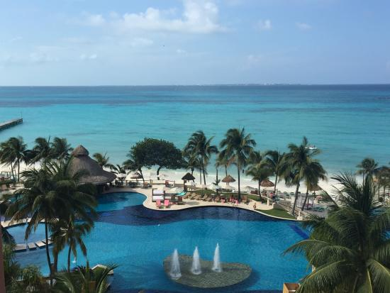 Grand Fiesta Americana C Beach Cancun This Is The View From Our Room I