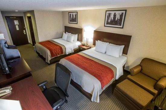 Comfort Inn O'Hare: Double Room