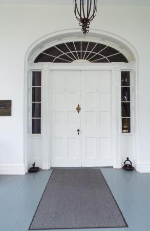 Natchez, MS: Front Door Entrance
