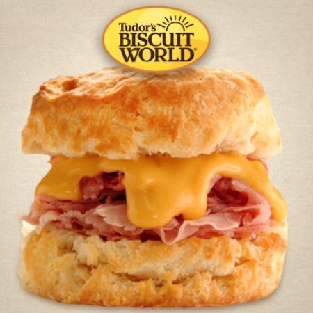 Tudor's Biscuit World: Shaved Ham Melt