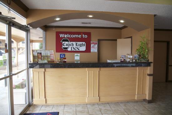 Coach Light Inn Brenham: office