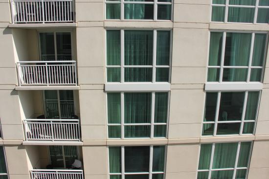 Ocean Beach Club: View from our balcony