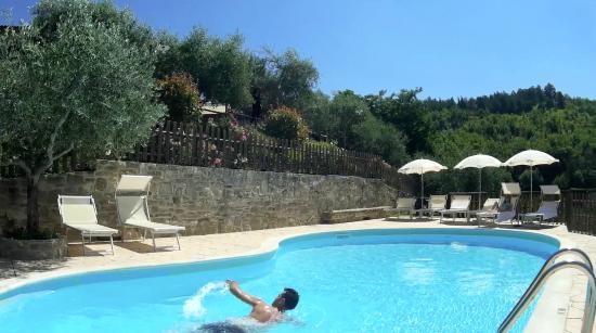 Agriturismo Le Dolci Colline: una bella nuotata