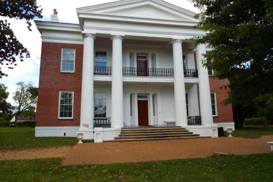 Natchez, Mississippi: Front entrance to the Estate