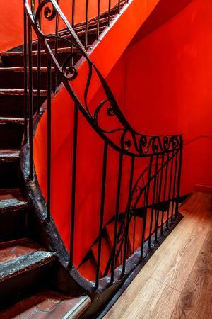 Casa Ortega : l'escalier