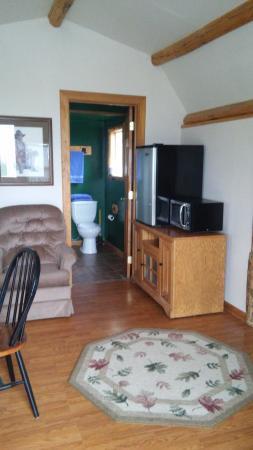 Red Eagle Motel: grizzley cabin
