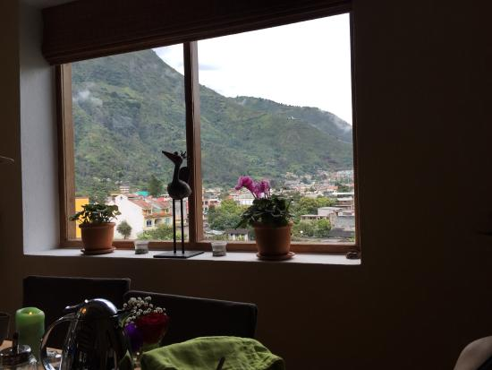 Magic Stone: View from breakfast