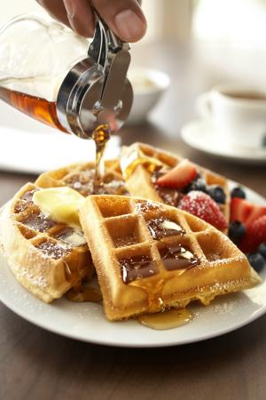 Country Inn & Suites By Carlson, Flagstaff : Fresh waffles for breakfast! No better way to start your day.