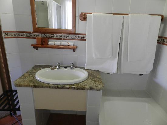 uKhahlamba-Drakensberg Park, Republika Południowej Afryki: Chalet 7 Bathroom