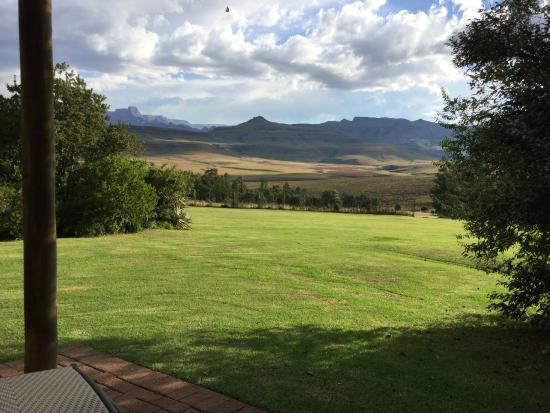 uKhahlamba-Drakensberg Park, Republika Południowej Afryki: Chalet 7 View from Deck