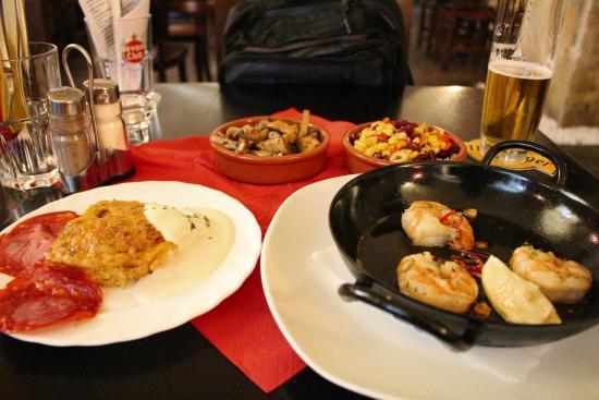 Las Tapas: nice mixture of tapas