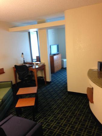 Fairfield Inn Lake Charles Sulphur: Extra Large Room - Exec. King