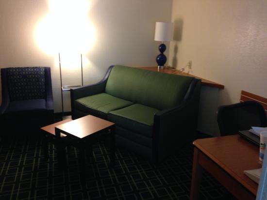 Fairfield Inn Lake Charles Sulphur: Nice Living Area