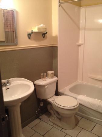 Hotellerie Jardins de ville: salle de bain