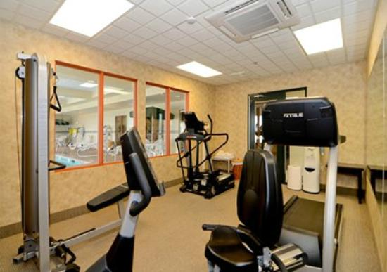 Fitness Center at the Comfort Inn & Suites Jerome