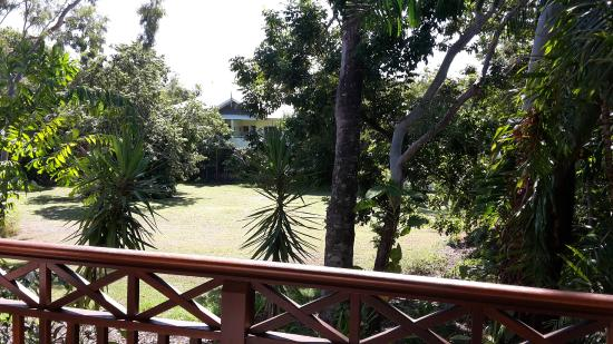 Freestyle Resort Port Douglas: This is the view from our balcony - a