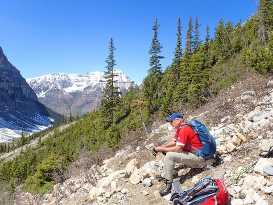 Stanley Glacier Hike : Awesome views. Plan to spend time have a rest, eating and hydrating!!