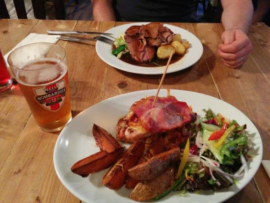 The New Forest Inn: food
