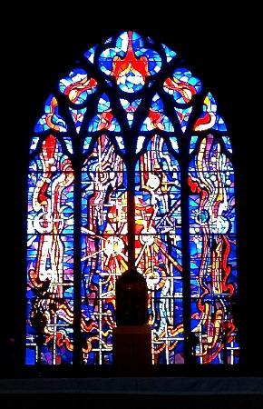 Kilkenny, İrlanda: The east window behind the high altar