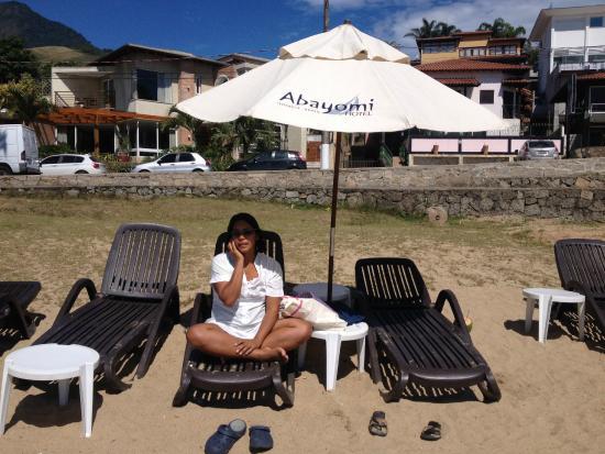 Abayomi Hotel: Praia