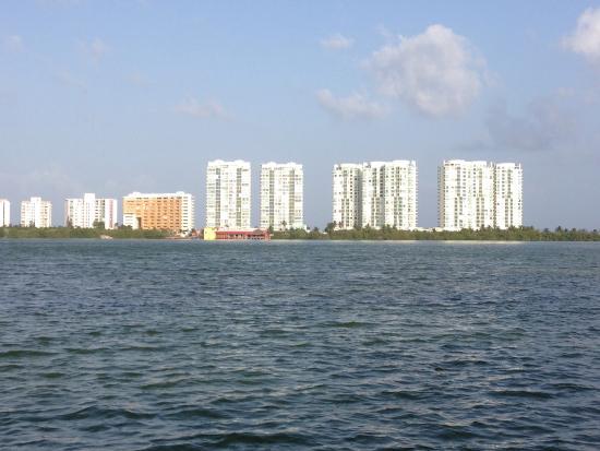 La Palapa Belga: Se paga la vista de Cancún!