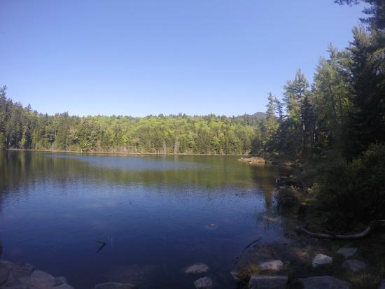 White Mountain National Forest: lake