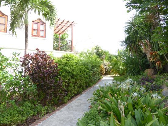 Cap Estate, St. Lucia: beautiful walkways thru the property