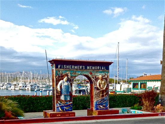 Ventura Harbor Village Fisherman S Memorial