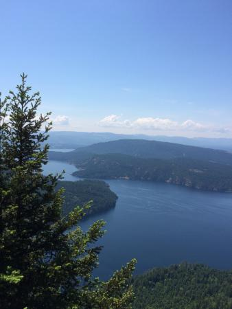 Mount Maxwell Provincial Park: The view!!!