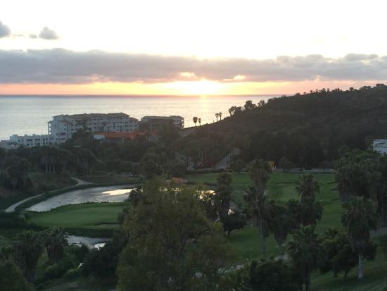 Real del Mar Golf Resort: Sunset View From Balcony