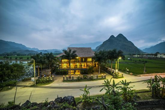 Mai Chau Lodge: Hotel View