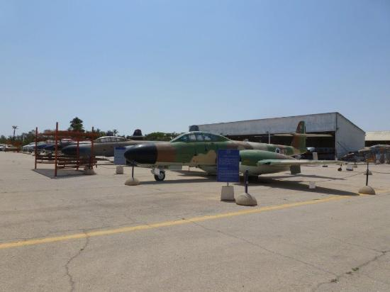 Hatzerim Israel Airforce Museum: General view