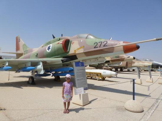Hatzerim Israel Airforce Museum: close-up with air forse history