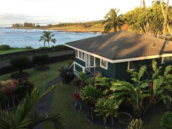 view from the villa picture of hana oceanfront cottages hana rh tripadvisor com hana oceanfront cottages hamoa beach