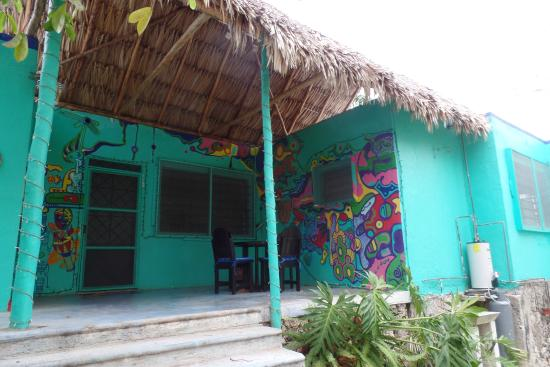 Grenn house picture of casita carolina bacalar for Villas wayak bacalar
