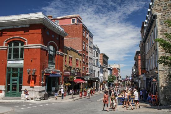 Le Haute Ville: Rue St-Jean