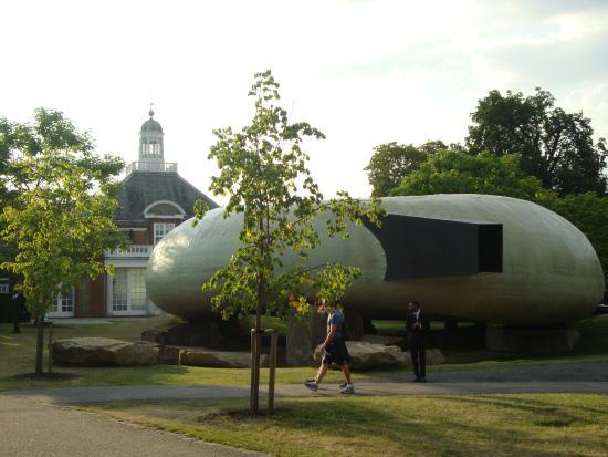 Serpentine Galleries : Arquitetura