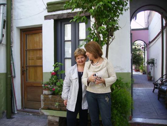 San Telmo Colonial Hotel Boutique: Jardim principal