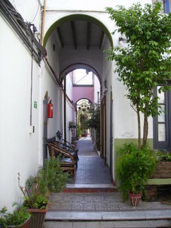 San Telmo Colonial Hotel Boutique: Corredor de entrada
