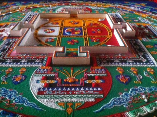 Mandala made with sand - Изображение Храм Юнхэгун (Ламаистский храм), Пекин  - Tripadvisor