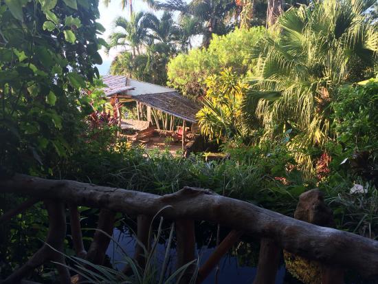 Casa Roca Inn: Sunset Patio.