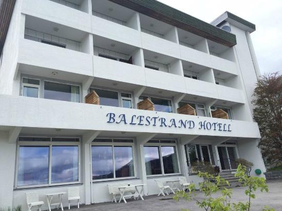 Balestrand Hotel: front