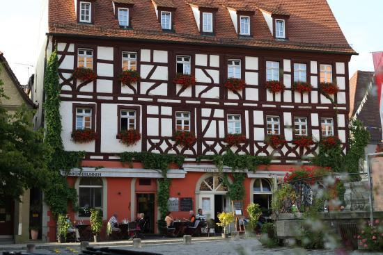 Hotel Behringer: Fachwerkhaus am Marktplatz