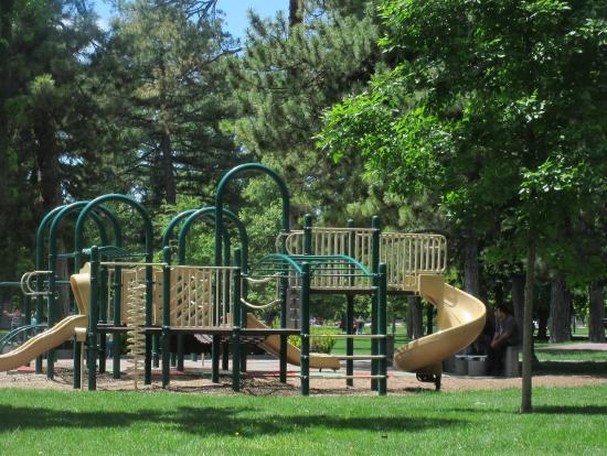 Playground Area, Liberty Park, Salt Lake City, Utah - Picture of ...