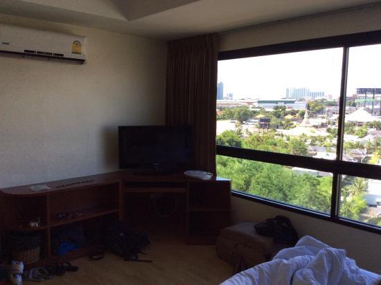 Nova Park Hotel Pattaya: View from broom