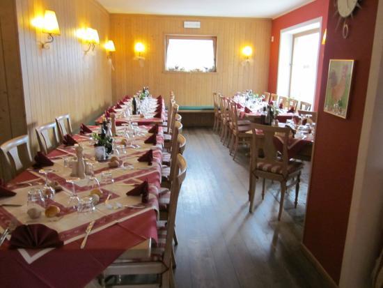 Agriturismo Stella Orobica: sal ristorante
