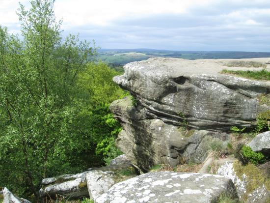Brimham Rocks: Lover's Leap