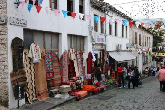 Image result for Bazaar Gjirokastra