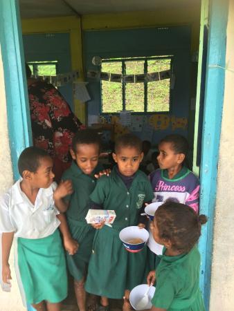 Namatakula, Fiji: School kids