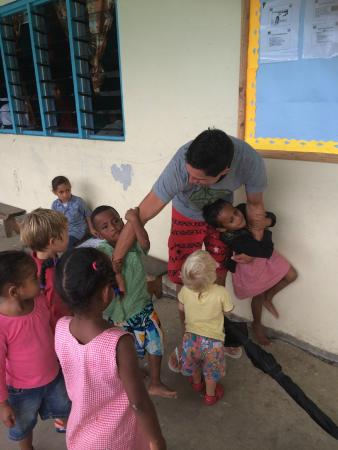 Namatakula, Fiji: School visit